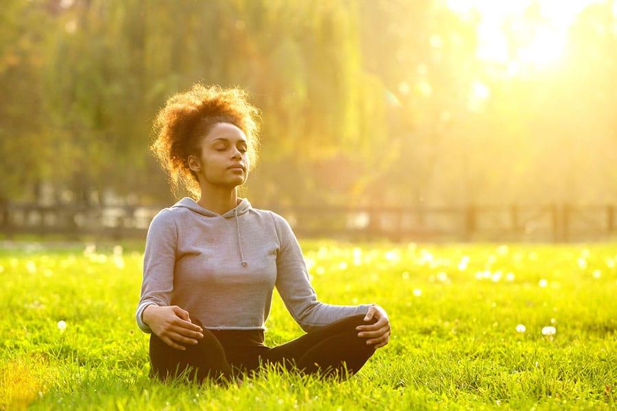 light-heart meditation teenager